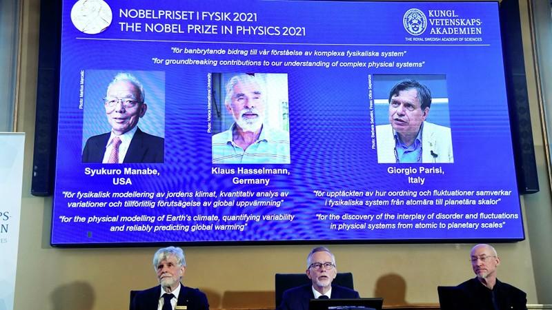 Nobel Vật lý 2021 vinh danh công trình theo dõi biến đổi khí hậu - ảnh 1