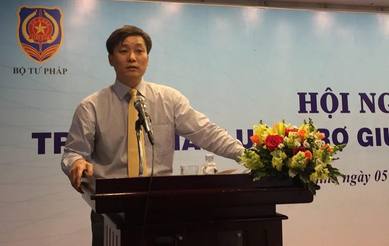 Ông Nguyễn Khánh Ngọc, Thứ trưởng Bộ Tư pháp