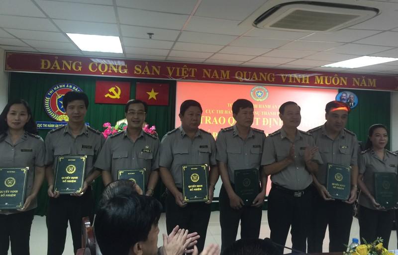 Thêm 29 chấp hành viên trung cấp cho TP.HCM - ảnh 1