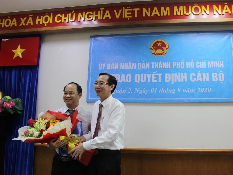 Ông Lê Đức Thanh làm chủ tịch UBND quận 2  - ảnh 1
