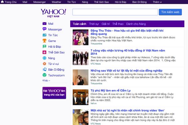 Yahoo đóng cửa văn phòng ở Việt Nam, Malaysia, Indonesia - ảnh 1
