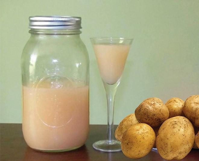 Những công dụng tuyệt vời của nước ép khoai tây - ảnh 1