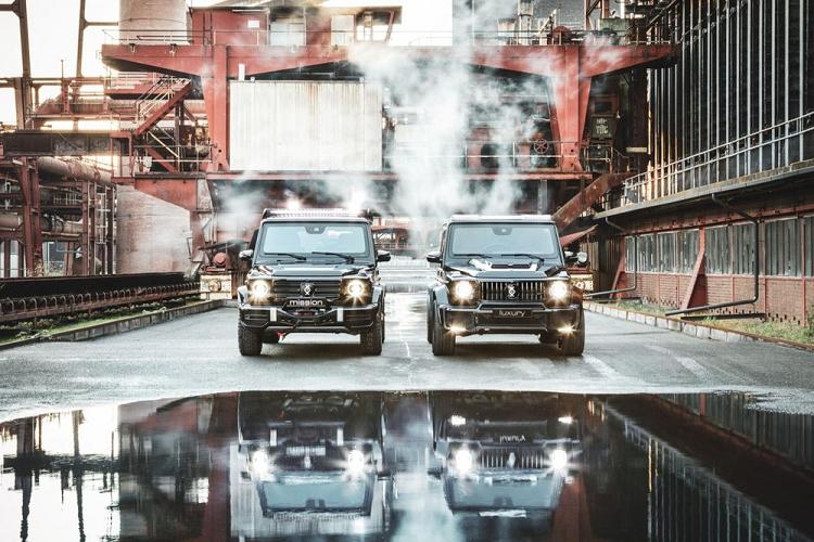 Cận cảnh xe chống đạn 'hầm hố' Mercedes-Benz G-Class Brabus - ảnh 1