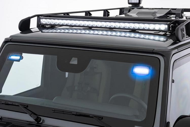 Cận cảnh xe chống đạn 'hầm hố' Mercedes-Benz G-Class Brabus - ảnh 3