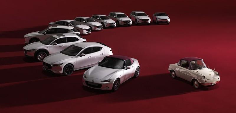 Mazda ra mắt xe mui trần đặc biệt kỷ niệm 100 năm hoạt động - ảnh 1