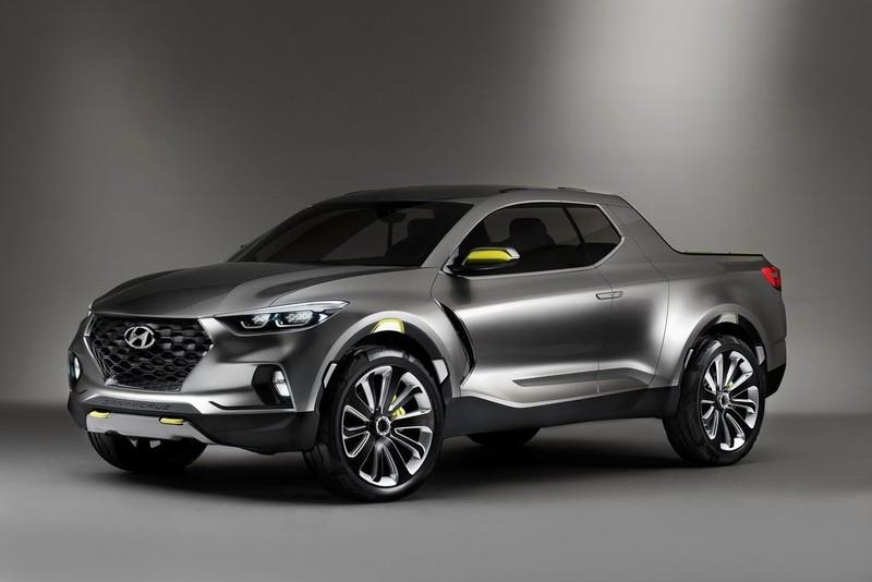 Lộ diện Hyundai Santa Cruz mới nâng cấp thiết kế - ảnh 2