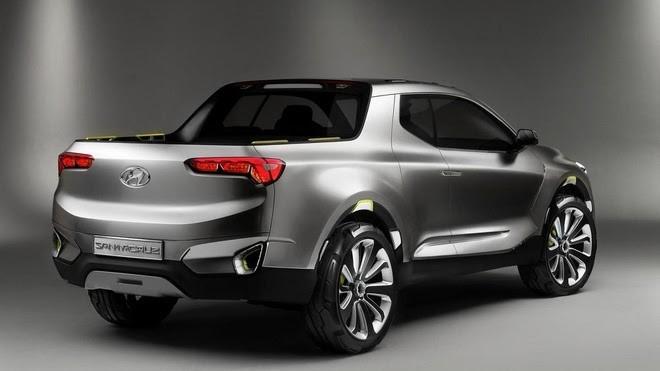 Lộ diện Hyundai Santa Cruz mới nâng cấp thiết kế - ảnh 3