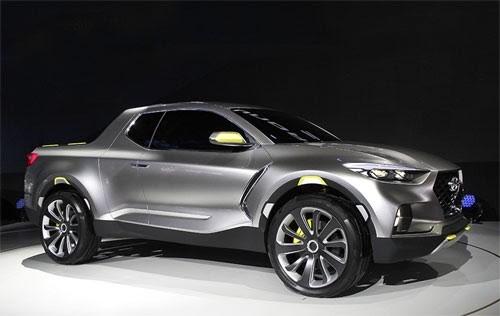 Lộ diện Hyundai Santa Cruz mới nâng cấp thiết kế - ảnh 1