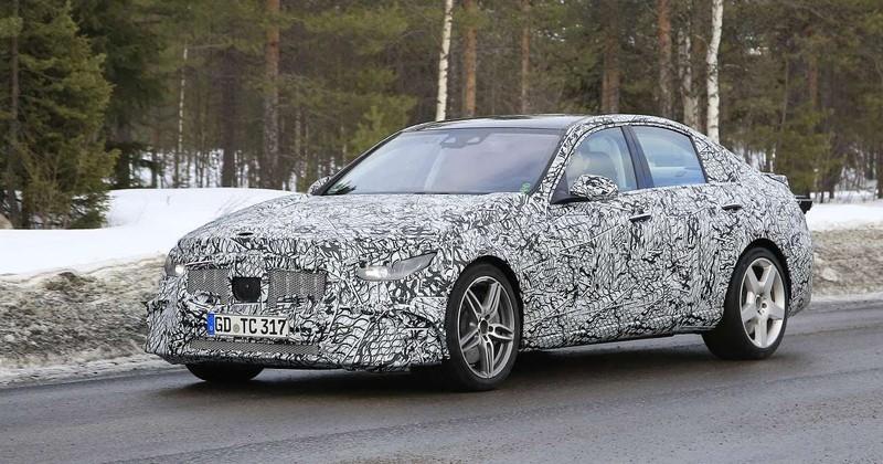 Hé lộ siêu phẩm Mercedes-AMG C53 đang chạy thử nghiệm - ảnh 1