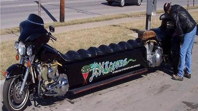 Chiếc Harley dị hợm nhất thế giới - ảnh 3