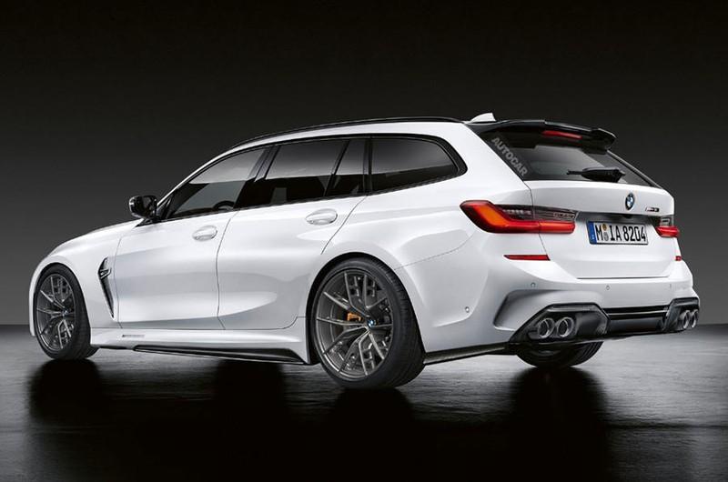Lộ diện BMW M3 Touring 2022 trước khi ra mắt vào 2022 - ảnh 2