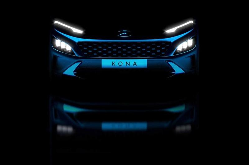 Hình ảnh chính thức của Hyundai Kona facelift mới - ảnh 1
