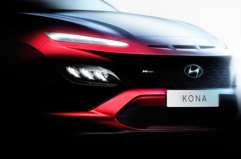 Hình ảnh chính thức của Hyundai Kona facelift mới - ảnh 3