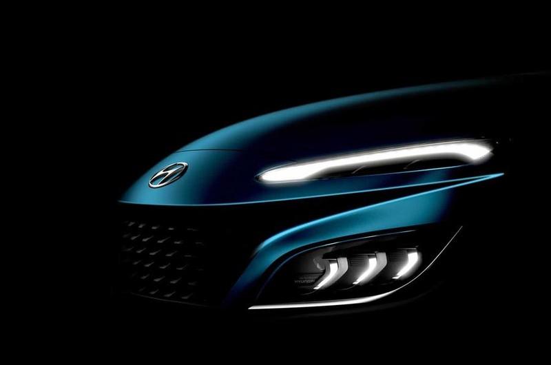 Hình ảnh chính thức của Hyundai Kona facelift mới - ảnh 2