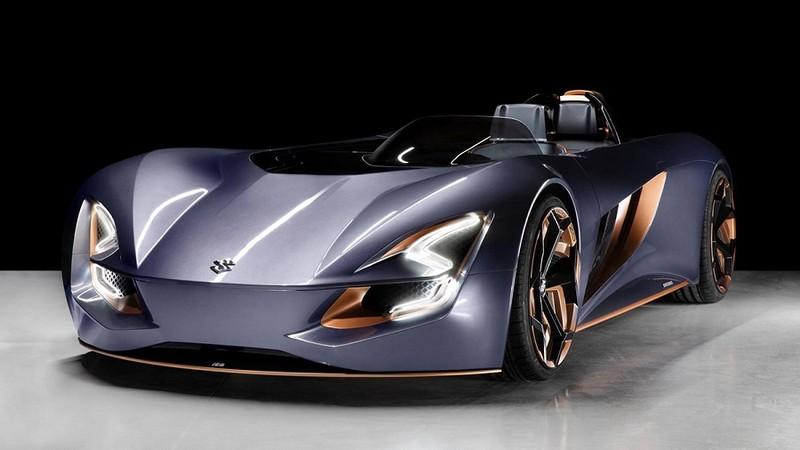Suzuki ra mắt xe điện mui trần được lấy cảm hứng từ xe mô tô - ảnh 3