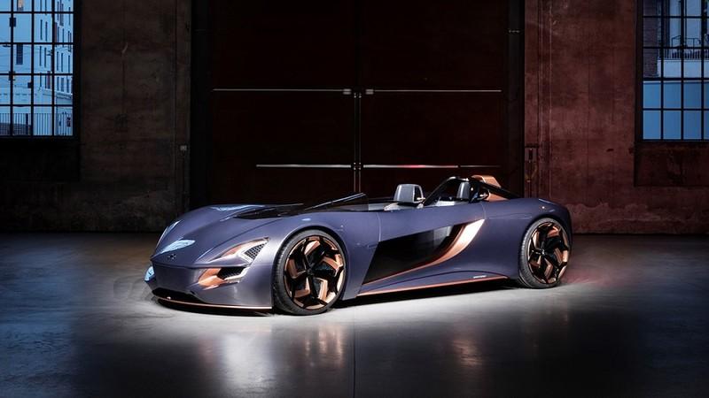 Suzuki ra mắt xe điện mui trần được lấy cảm hứng từ xe mô tô - ảnh 1
