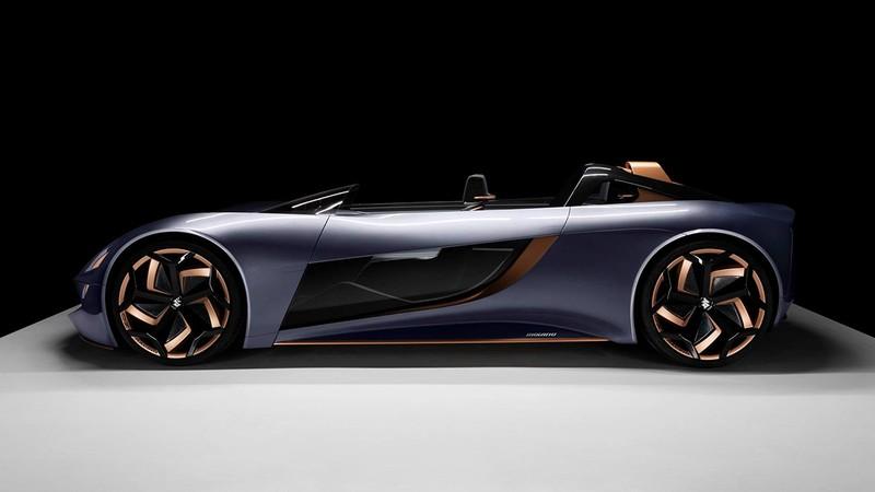 Suzuki ra mắt xe điện mui trần được lấy cảm hứng từ xe mô tô - ảnh 2