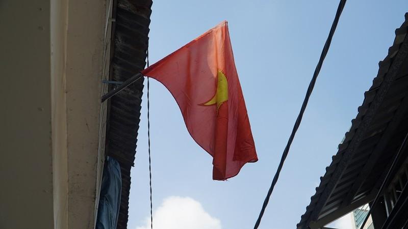 Nhiều đường ở TP.HCM rực rỡ cờ Tổ quốc mừng lễ Quốc khánh - ảnh 5