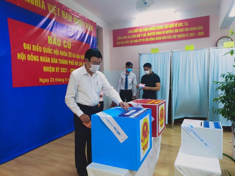 Cử tri quận 1: 'Đây là kỳ bầu cử đặc biệt' - ảnh 3