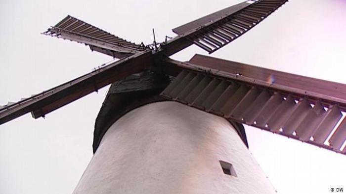 Nhà như cối xay gió ở Hà Lan