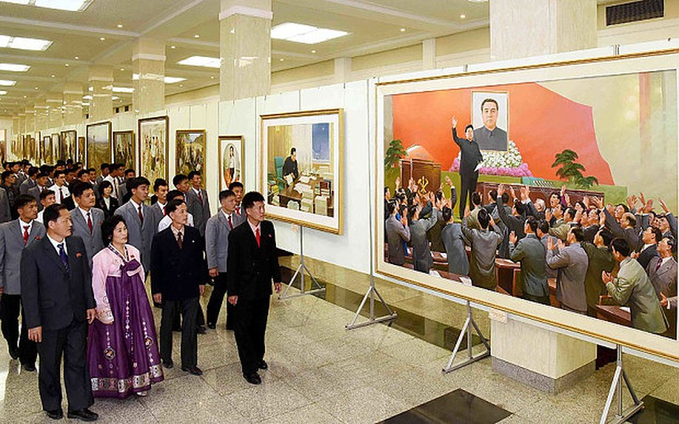 Ảnh vệ tinh 'soi' quy mô diễu binh rầm rộ của Triều Tiên - ảnh 3