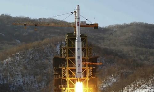 Triều Tiên đã phóng tên lửa - ảnh 1