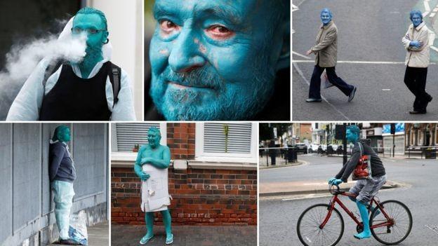hơn 3.000 người khỏa thân vì nghệ thuật ở Anh
