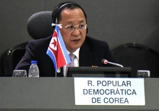 Ngoại trưởng Triều Tiên Ri Yong Ho