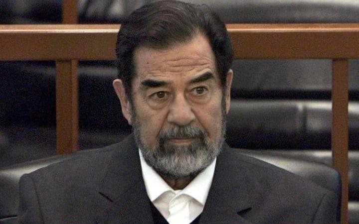 Cố Tổng thống Iraq Saddam Hussein