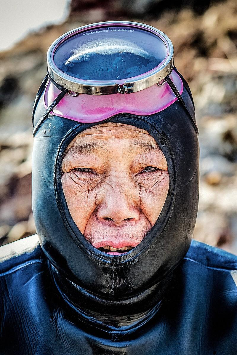 nữ thợ lặn cuối cùng Hàn Quốc
