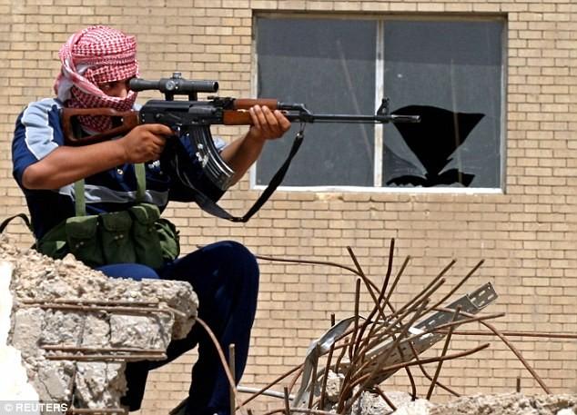 lính bắn tỉa Mosul