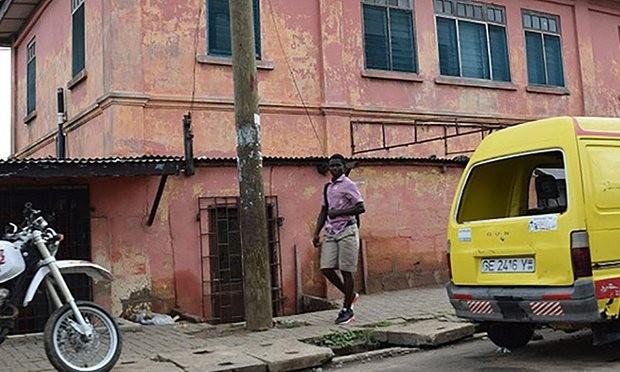 đại sứ quán Mỹ  giả mạo ở Ghana