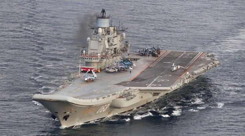 Tàu sân bay Đô đốc Kuznetsov của Nga
