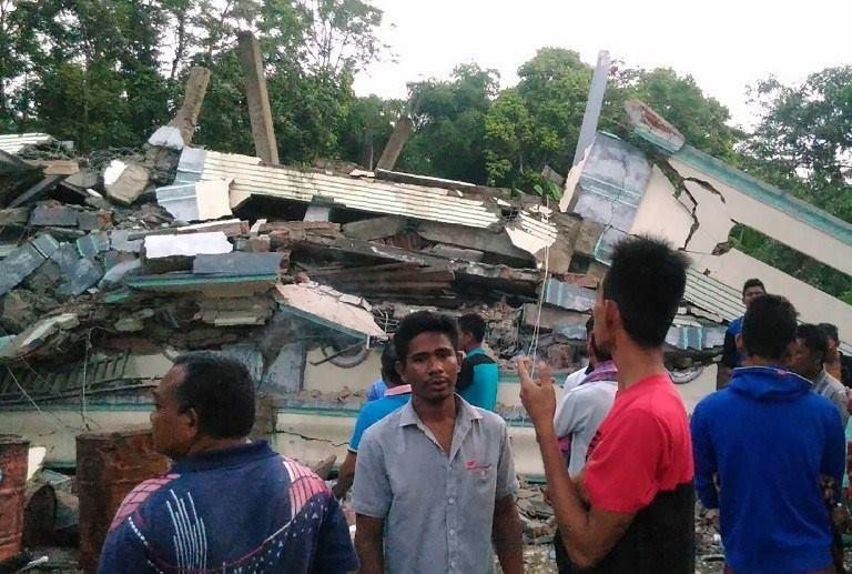 động đất Indonesia