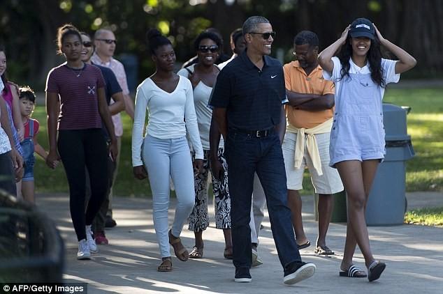 Obama du lịch