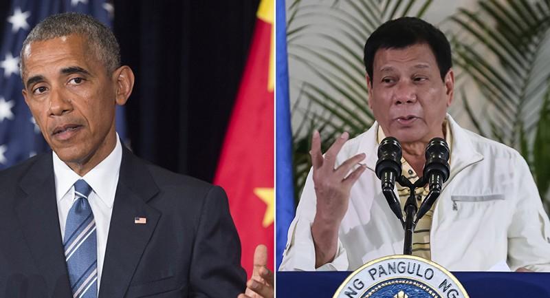 ông Obama và Duterte