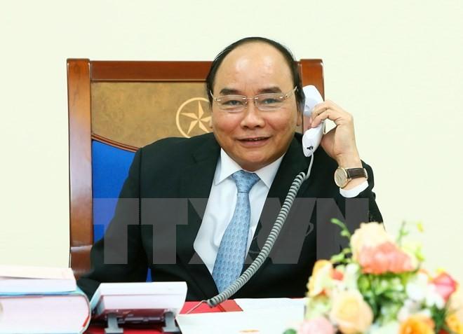 Thủ tướng Nguyễn Xuân Phúc điện đàm với ông Trump - ảnh 1