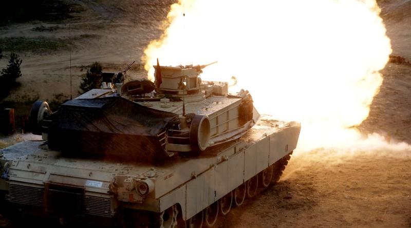 Xe tăng M1 Abrams của Mỹ