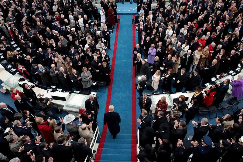 Khoảnh khắc ấn tượng tại lễ nhậm chức của ông Trump - ảnh 10