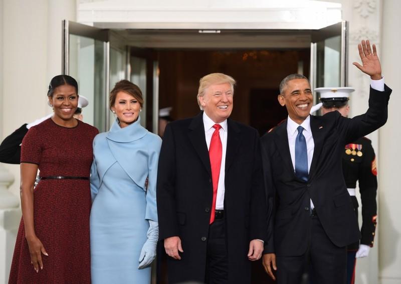 Khoảnh khắc ấn tượng tại lễ nhậm chức của ông Trump - ảnh 1