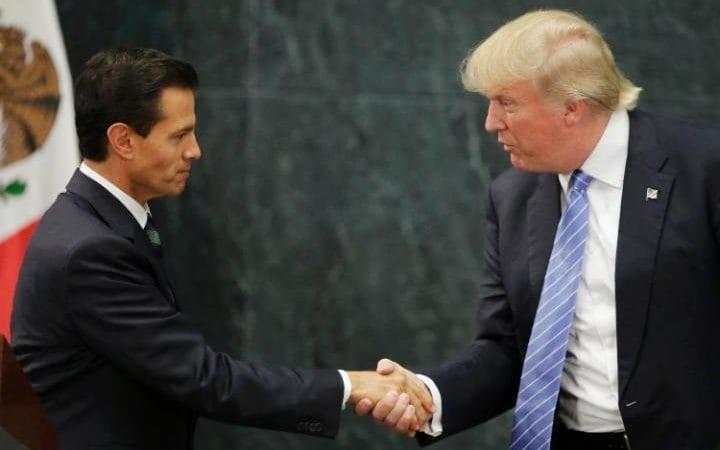 trump và tổng thống Mexico