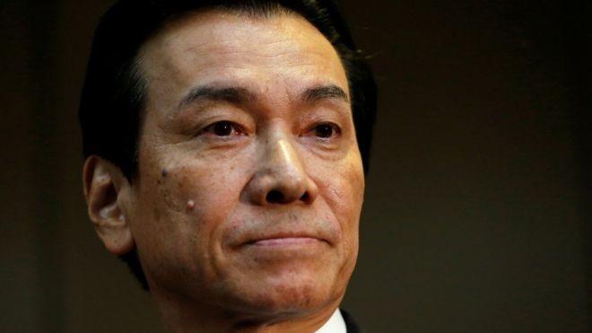 Chủ tịch Tập đoàn Toshiba Shigenori Shiga