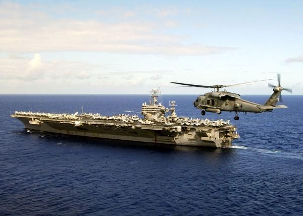 Trung Quốc lớn tiếng vụ hải quân Mỹ tuần tra biển Đông - ảnh 1