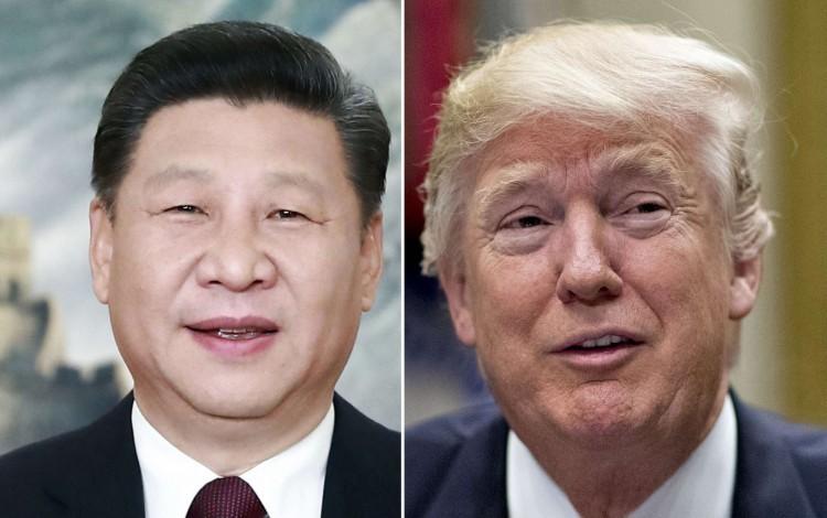 Tập Cận Bình và Donald Trump