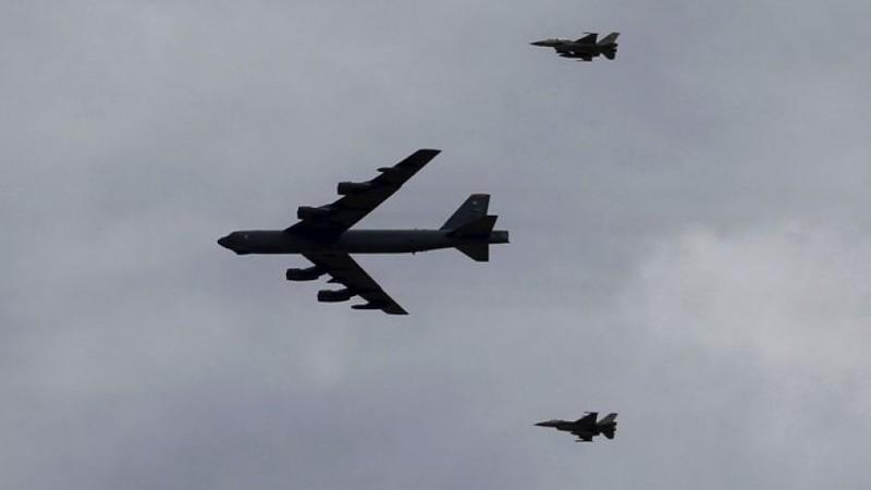 Lầu Năm Góc lên tiếng vụ Su-27 Nga giáp mặt B-52 Mỹ - ảnh 1