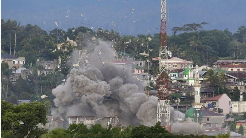 Đặc nhiệm Mỹ giúp Philippines diệt khủng bố ở Marawi - ảnh 1