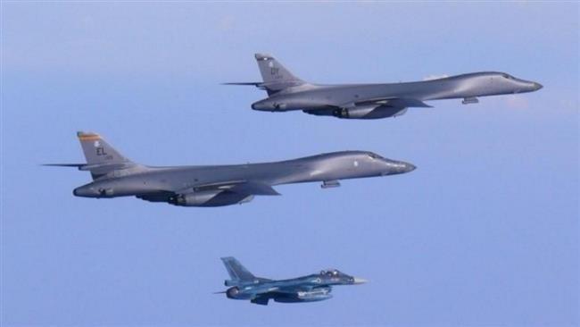 2 oanh tạc cơ B-1 Mỹ xuất kích đáp trả Triều Tiên  - ảnh 1