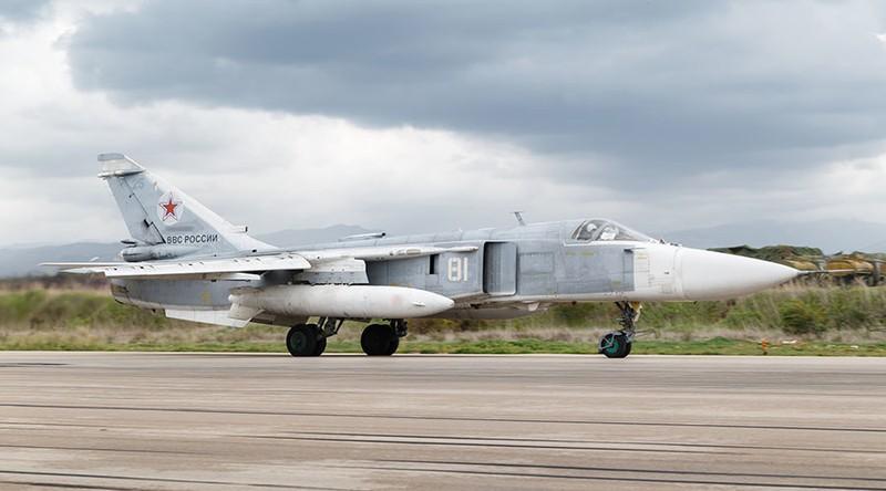 Su-24 Nga gặp nạn ở Syria, phi hành đoàn tử vong - ảnh 1