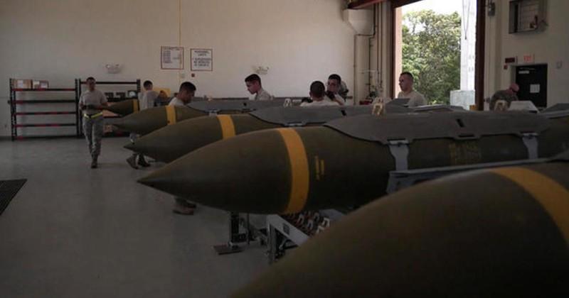 Mỹ chuyển hơn 800.000 đơn vị bom đạn tới đảo Guam - ảnh 1