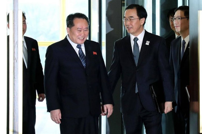 Hàn Quốc xem xét tạm gỡ lệnh trừng phạt Triều Tiên - ảnh 1